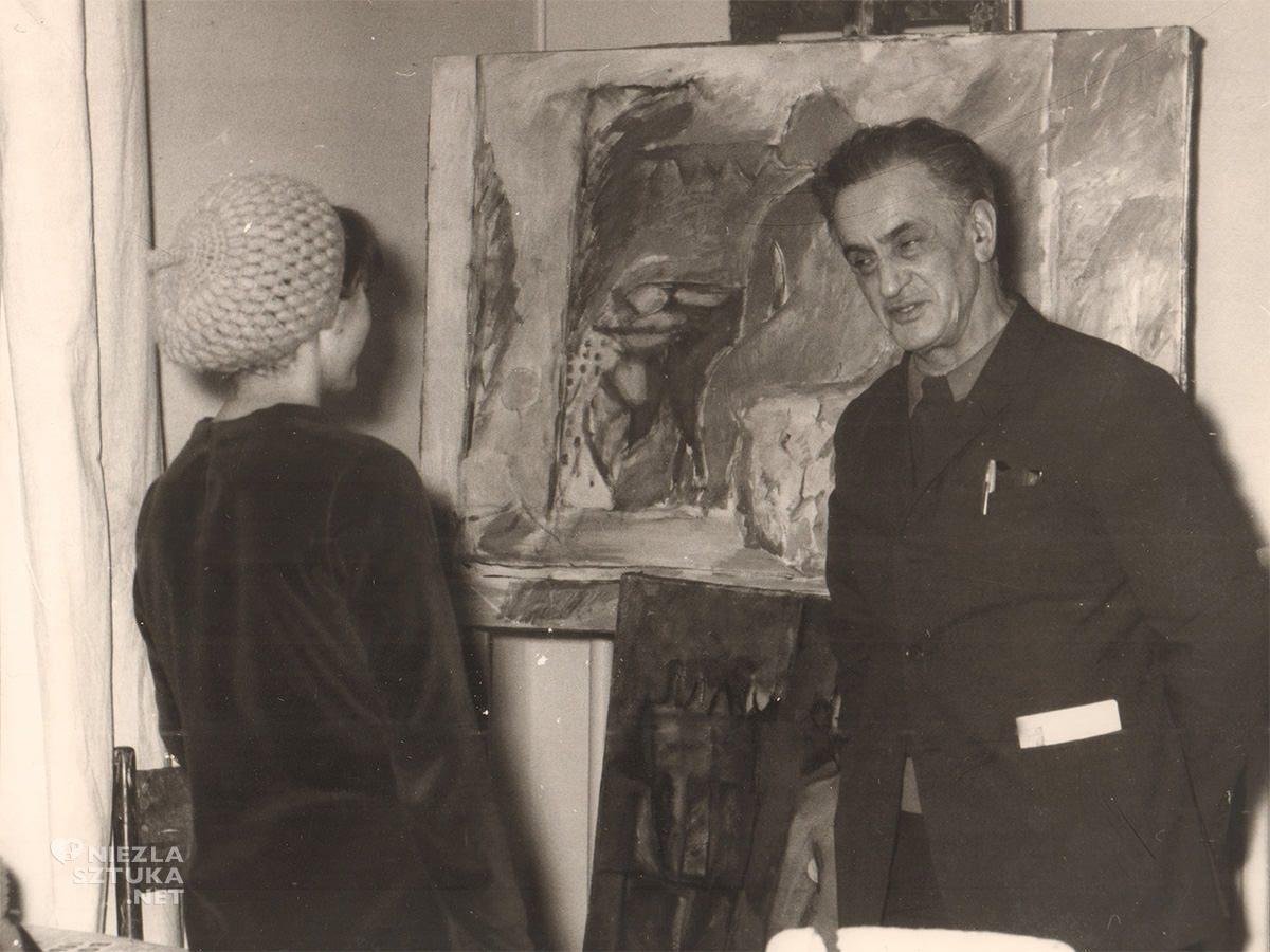 Jonasz Stern, pracownia, ASP, Kraków, archiwum, Niezła Sztuka