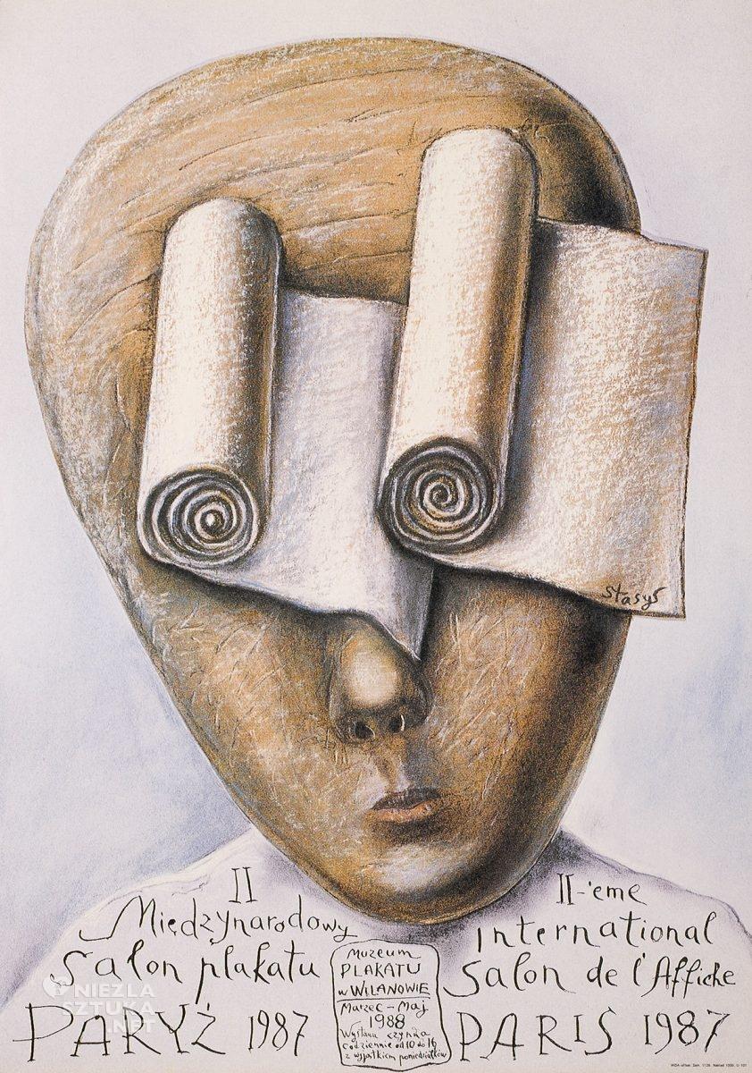 Stasys Eidrigevičius, Międzynarodowy Salon Plakatu, Paryż, plakat, Niezła Sztuka