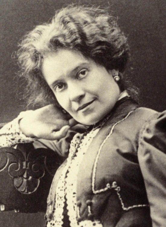 Ada Negri, poetka, niezła sztuka