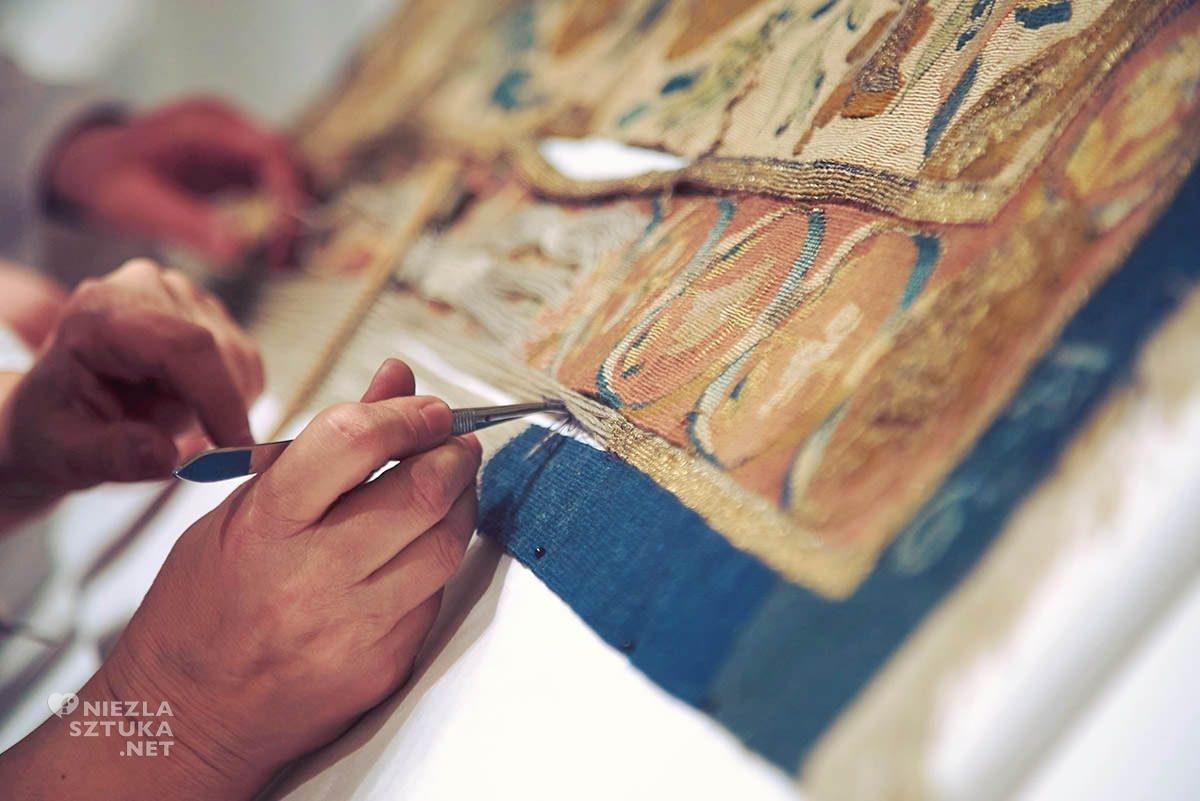 Arrrasy, Wawel, renowacja, niezła sztuka