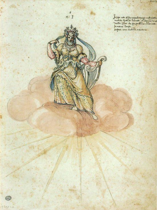 Bernardo Buontalenti, La pellegrina, intermedia, sztuka włoska, niezła sztuka