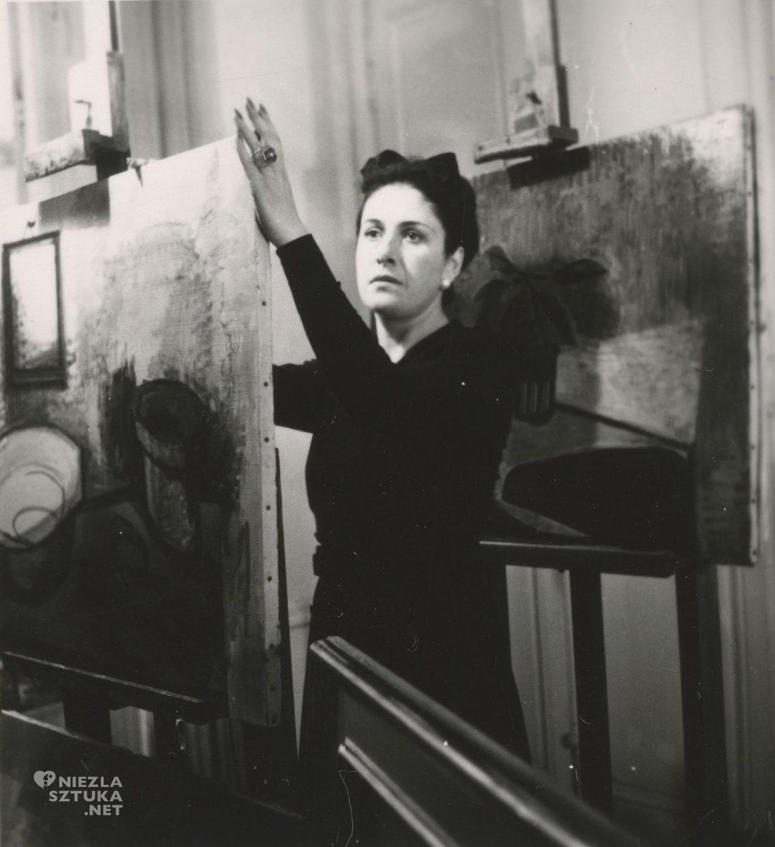 Dora Maar, atelier, fotografia, w pracowni artysty, Paryż, Pablo Picasso, kobiety w sztuce, Niezła Sztuka