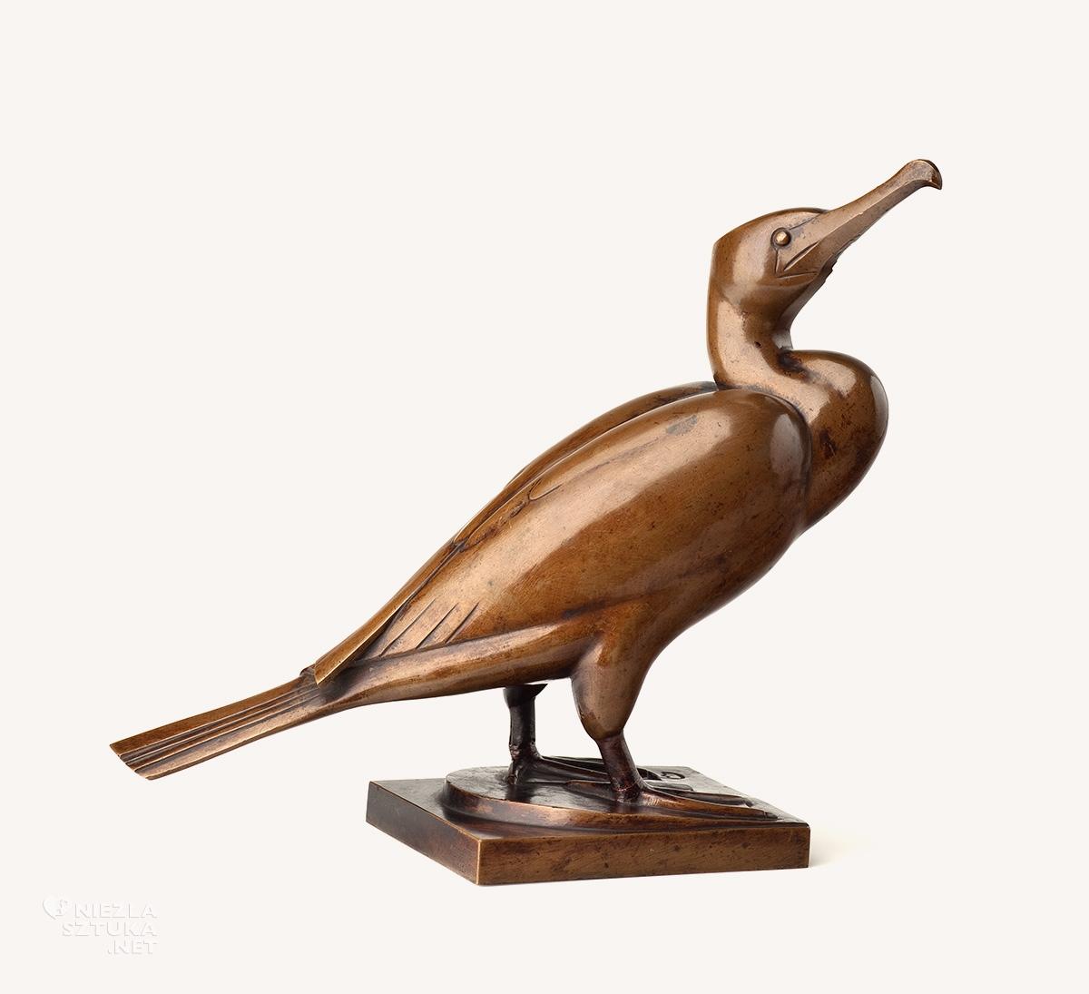 Magdalena Gross, rzeźba, rzeźbiarka, Kormoran, zoo, Niezła sztuka