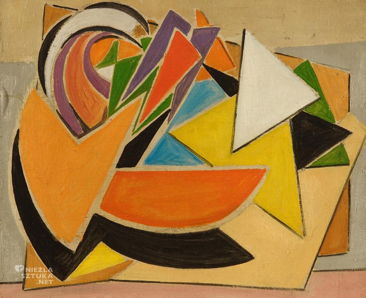 Jonasz Stern, Kompozycja geometryczna, sztuka współczesna, sztuka polska, Niezła Sztuka