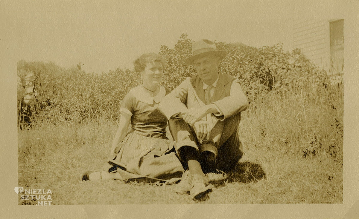 Edward Hopper, Josephine Hopper w Cape Elizabeth, Maine , fotografia, Niezła Sztuka