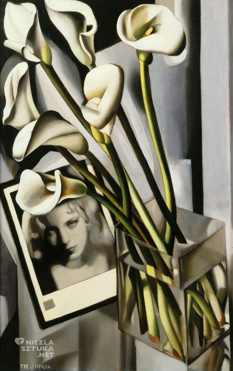 Tamara Łempicka, Arlette Boucard i Cantedeskia, art deco, kobiety w sztuce, Tamara de Lempicka, Niezła Sztuka