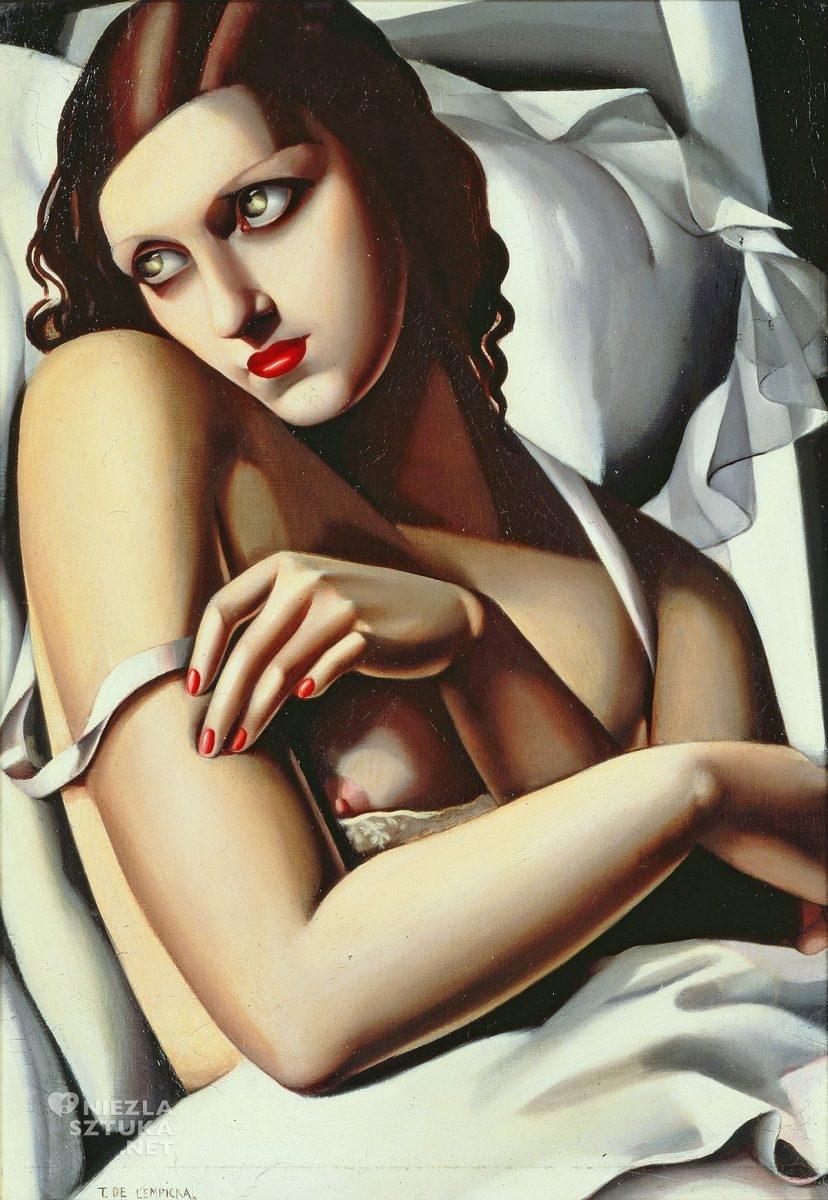 Tamara Łempicka, Tamara de Lempicka, Rekonwalescentka, kobiety w sztuce, art deco, Niezła Sztuka