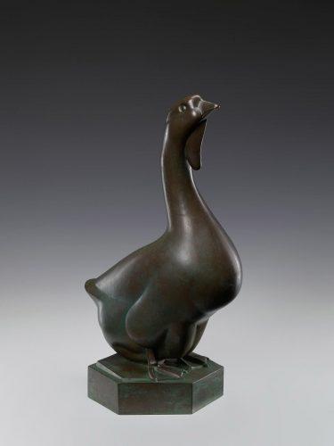 Magdalena Gross, Gęś, rzeźba, sztuka polska, Niezła Sztuka