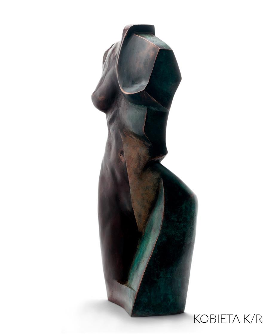 Tomasz Wawryczuk, rzeźba, Kobieta K/R, Niezła Sztuka