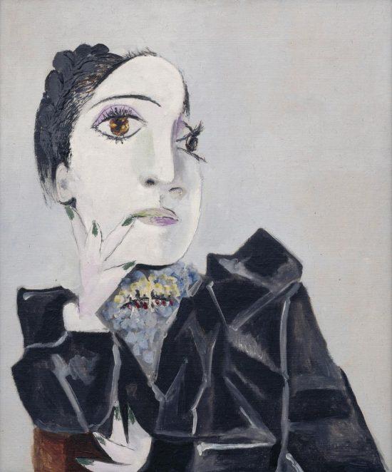 Pablo Picasso, Portret Dory Maar z zielonymi paznokciami, kubizm, sztuka współczesna, kubizm, kobiety w sztuce, muzy malarzy, Niezła Sztuka