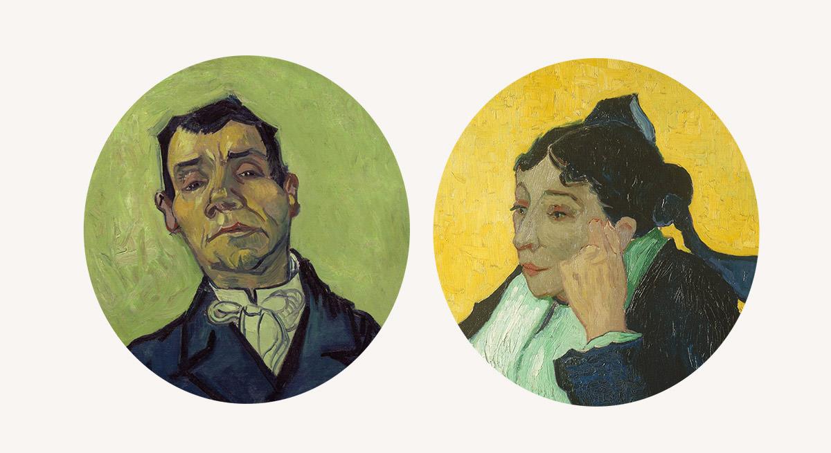 Marie Ginoux, Joseph Ginoux, van Gogh, Arles, niezła sztuka