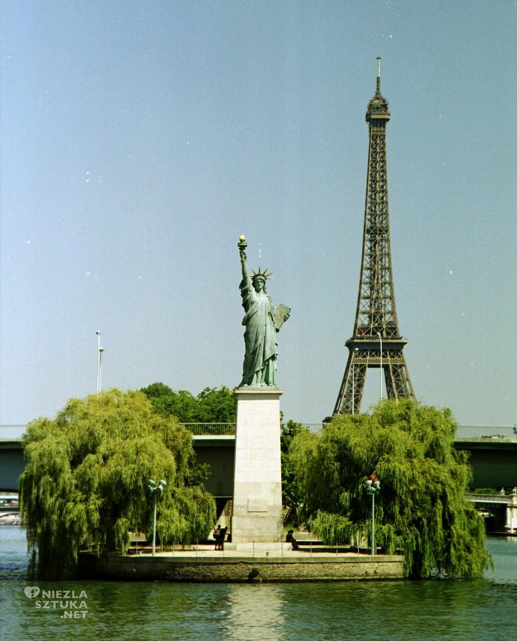 Statua Wolności, kopia, Paryż, Niezła Sztuka