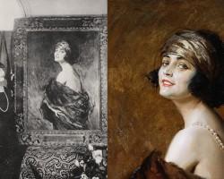 pola negri, portret, niezła sztuka
