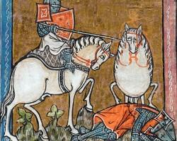 Ilustracje, średniowiecze, L'histoire de Merlin, Niezła Sztuka