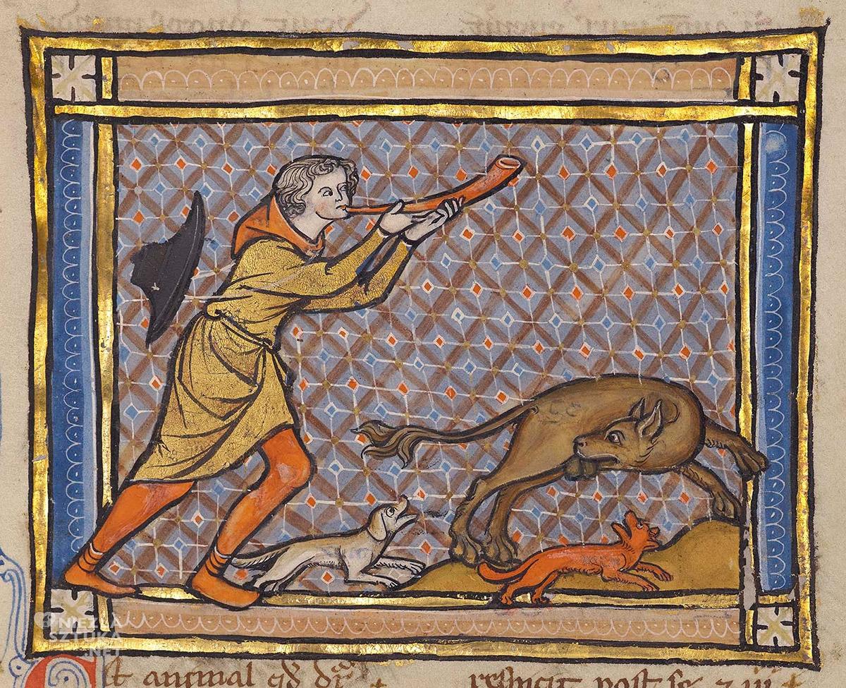 Bestiariusz, Bóbr, zwierzęta, średniowiecze, Niezła Sztuka