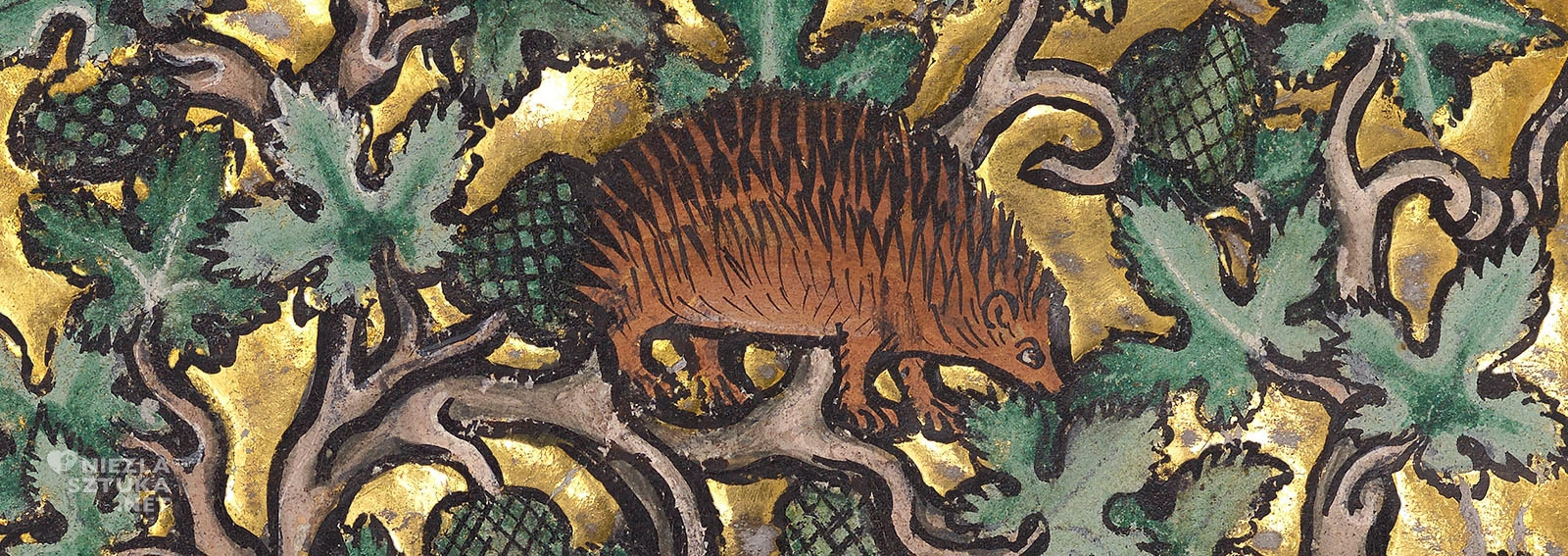 Bestiariusze, jeż, zwierzęta, średniowiecze, Niezła Sztuka
