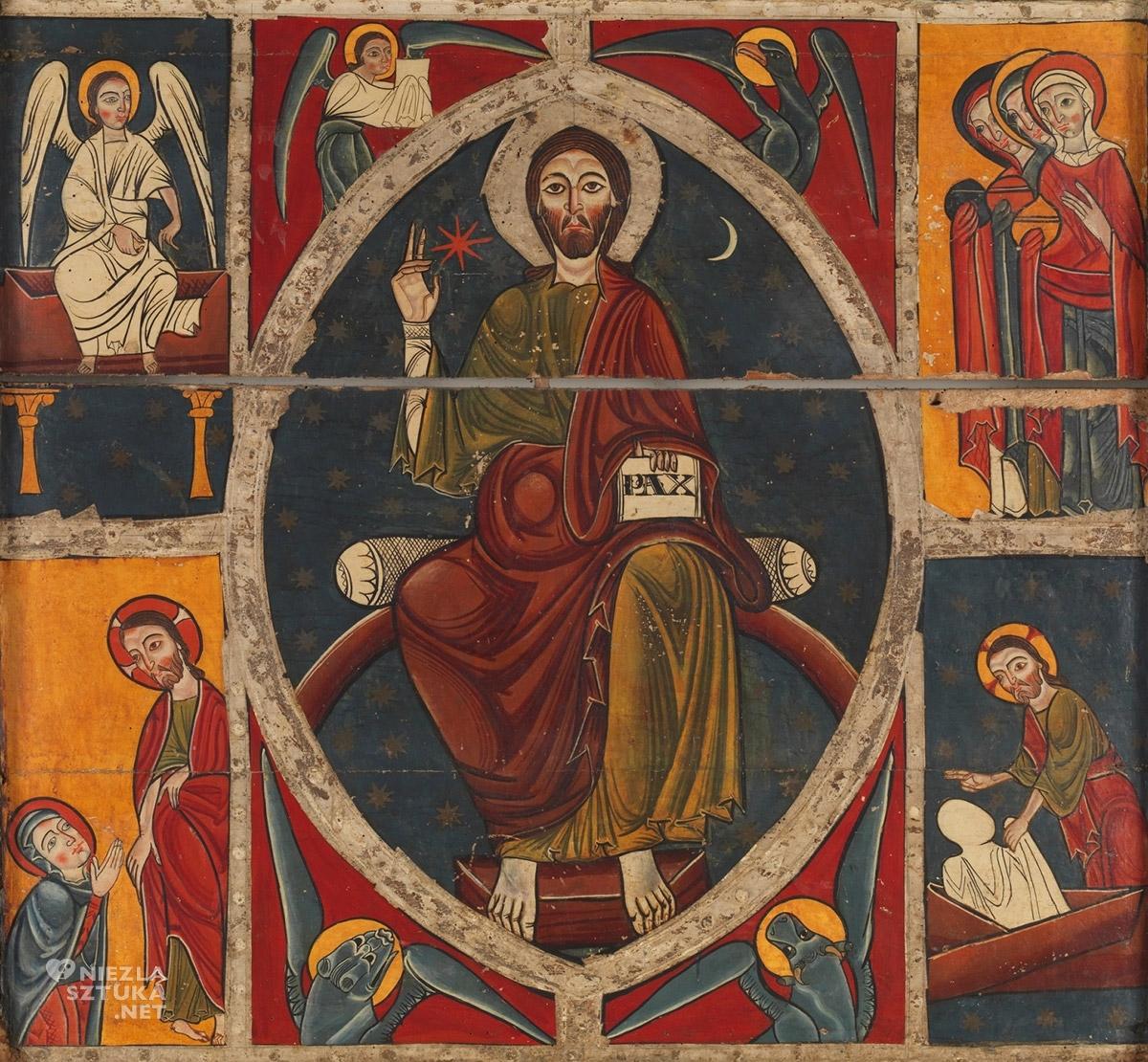 Tetramorfa, Chrystus, Ewangeliści, Prado, Madryt
