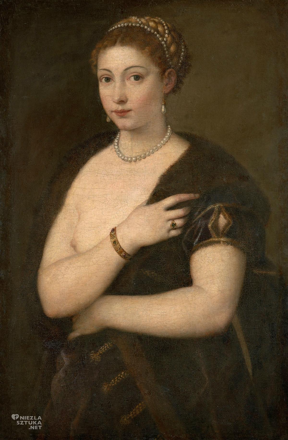 Tycjan, Kobieta w futrze, renesans, sztuka włoska, Niezła Sztuka