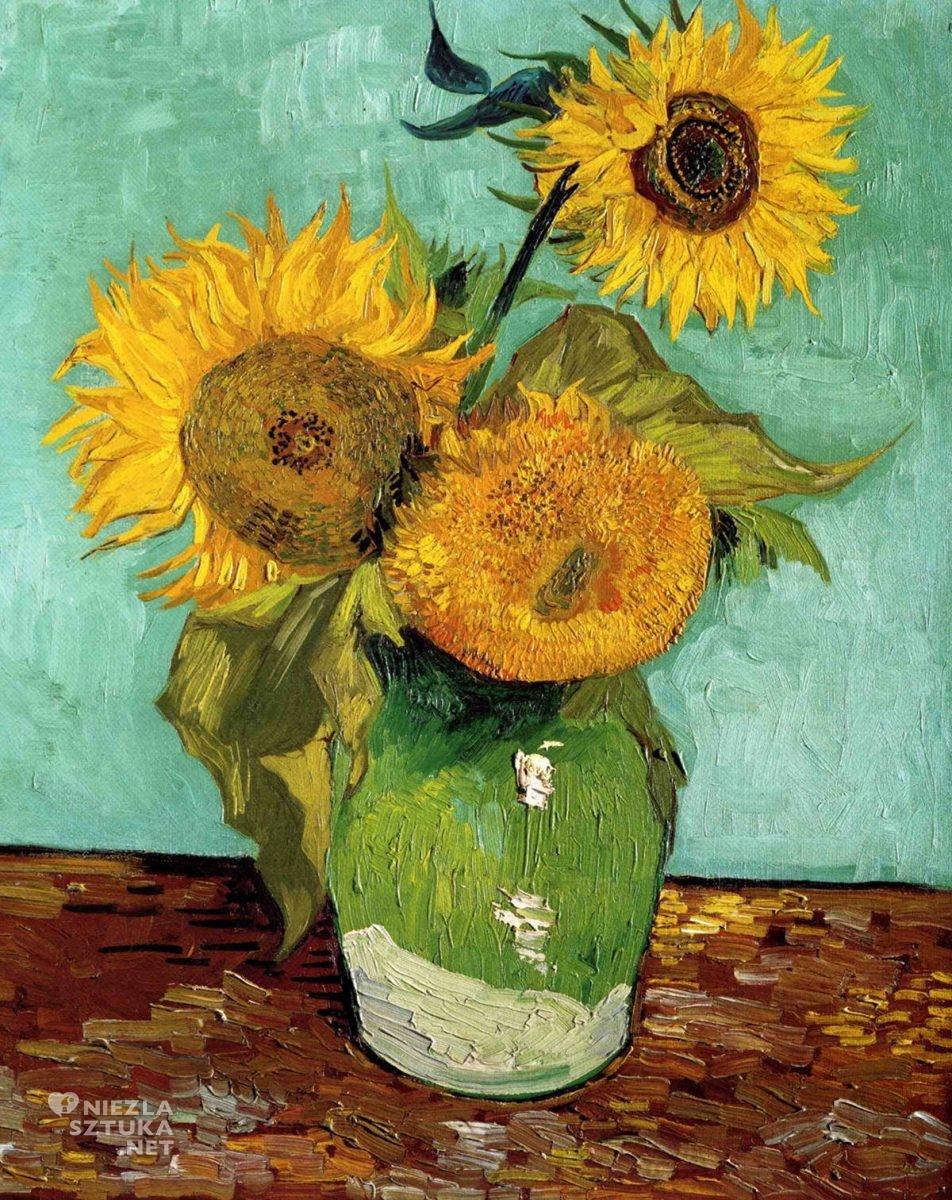 Vincent van Gogh, Słoneczniki, Arles, niezła sztuka