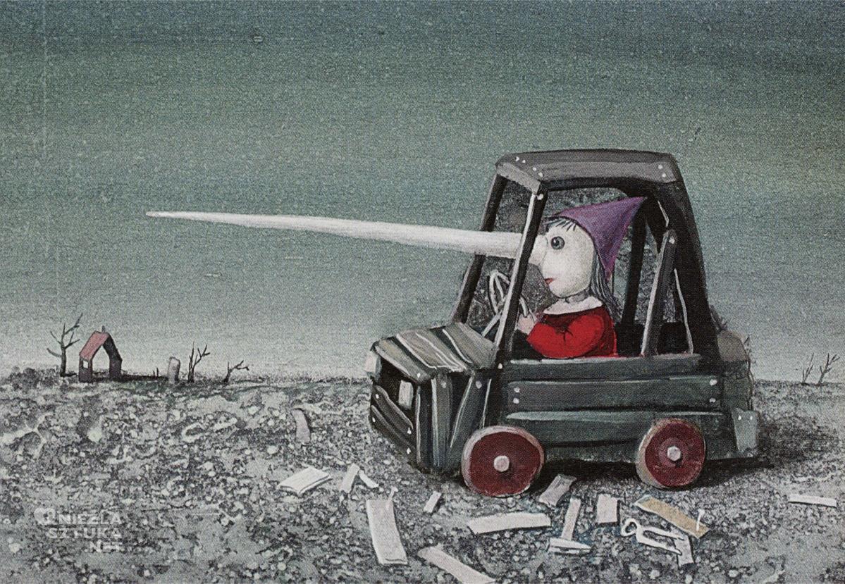 Stasys Eidrigevičius, ilustracja, książki dla dzieci, Niezła Sztuka