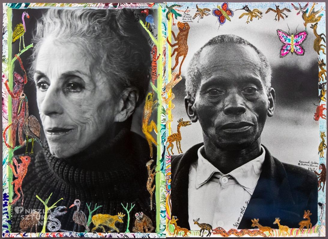 Peter Beard, Karen Blixen, Pożegnanie z Afryką, literatura, Dania, Kenia, malarstwo, kobiety w sztuce, Niezła Sztuka