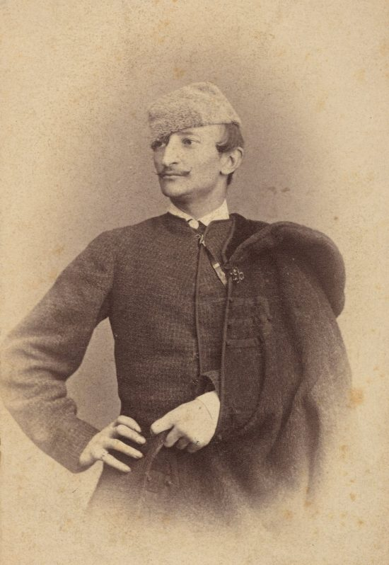 Portret Artura Grottgera, fotografia, sztuka polska, XIX wiek, Niezła Sztuka