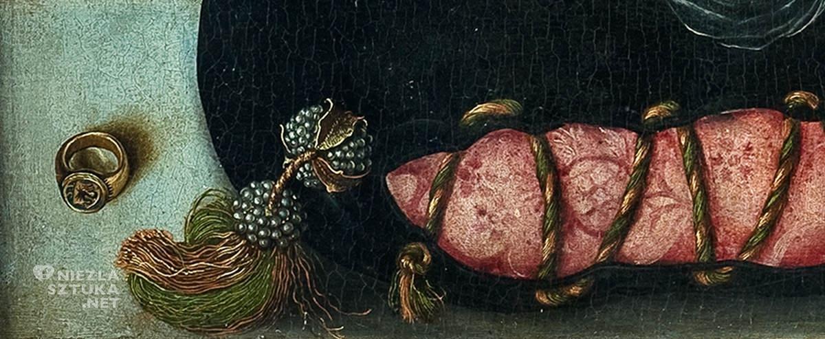 Lucas Cranach, Madonna pod jodłami, XVI wiek, sztuka niemieckie, malarstwo religijne, renesans, Niezła Sztuka
