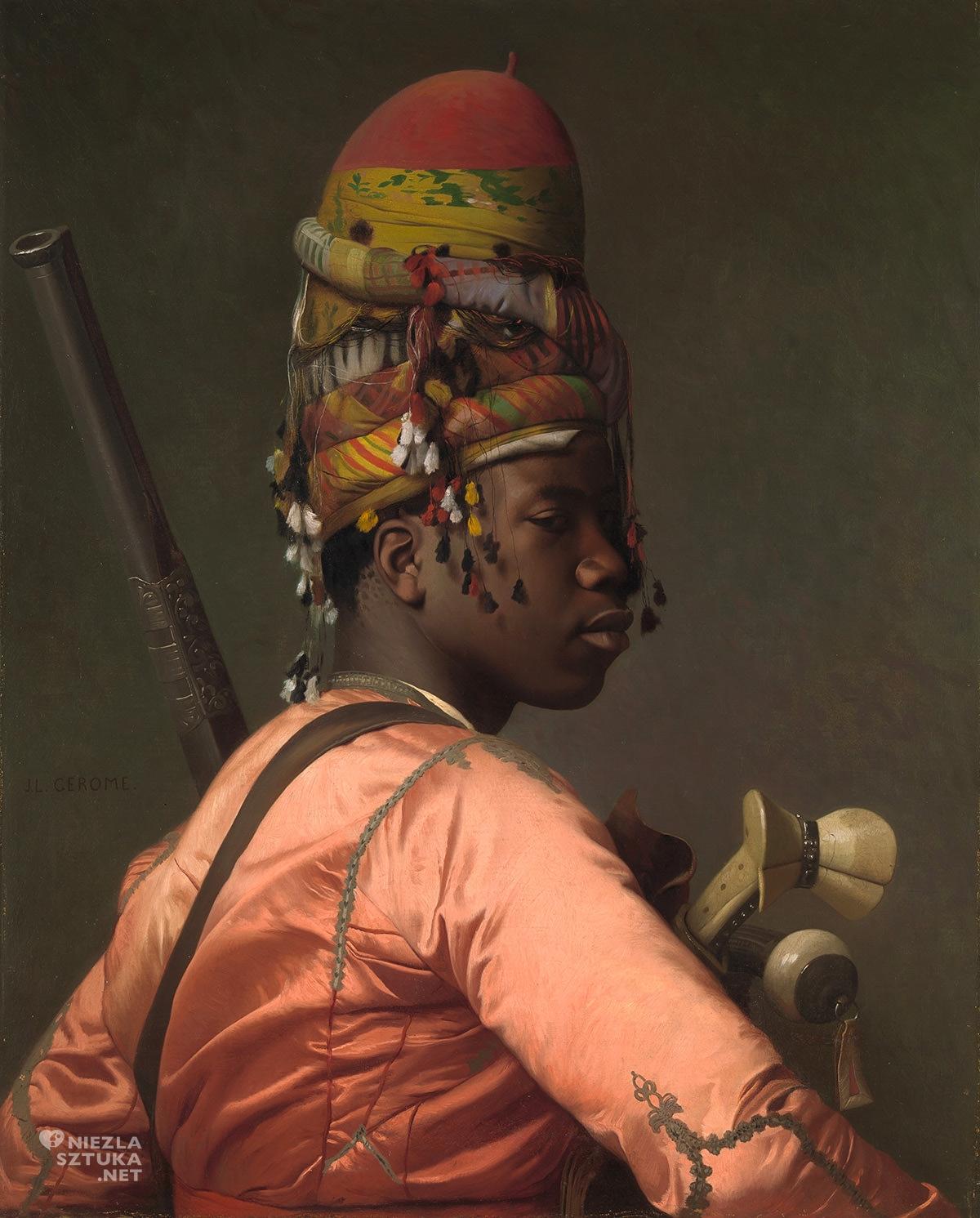 Jean-Léon Gérôme, Baszybuzuk, sztuka francuska, akademizm, orientalizm, Niezła Sztuka