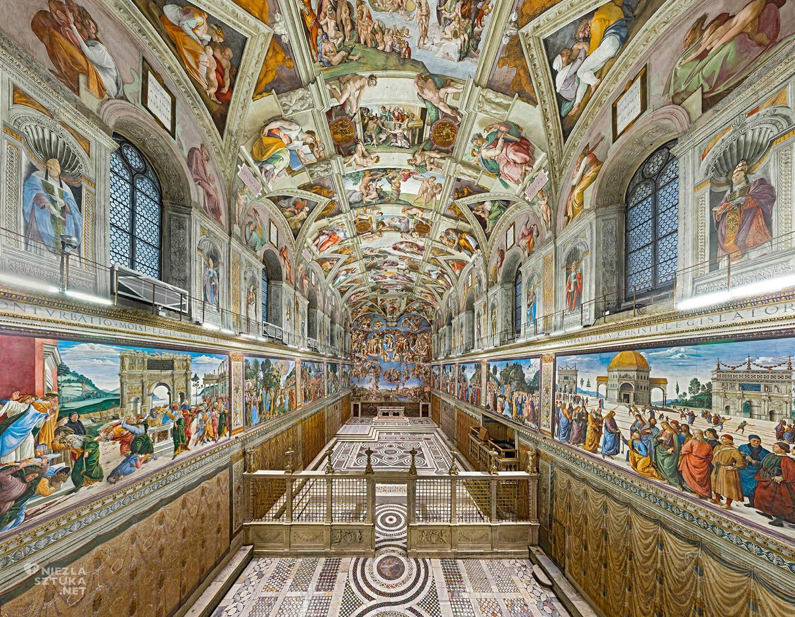 kaplica Sykstyńska, watykan, rzym, niezła sztuka