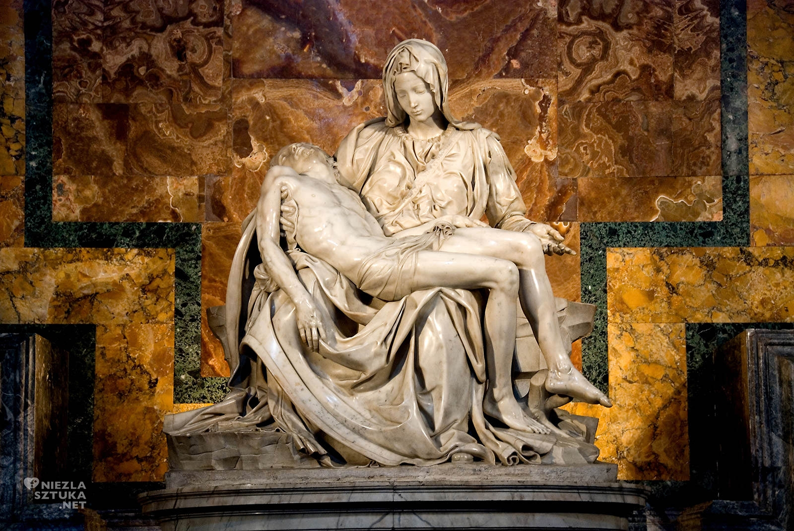 Michał Anioł, Pieta, rzeźba, niezła sztuka
