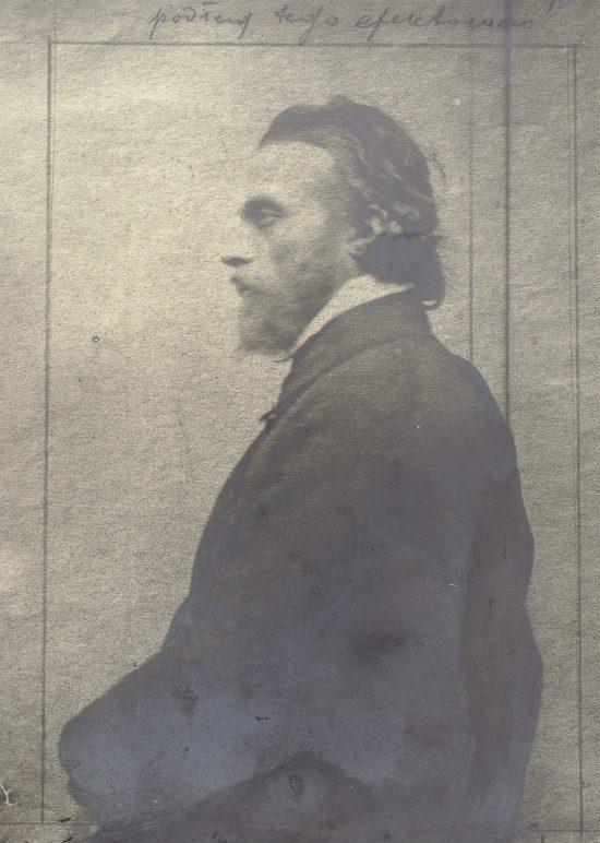 Portret Cypriana Norwida, Cyprian Norwid, fotografia, Niezła Sztuka