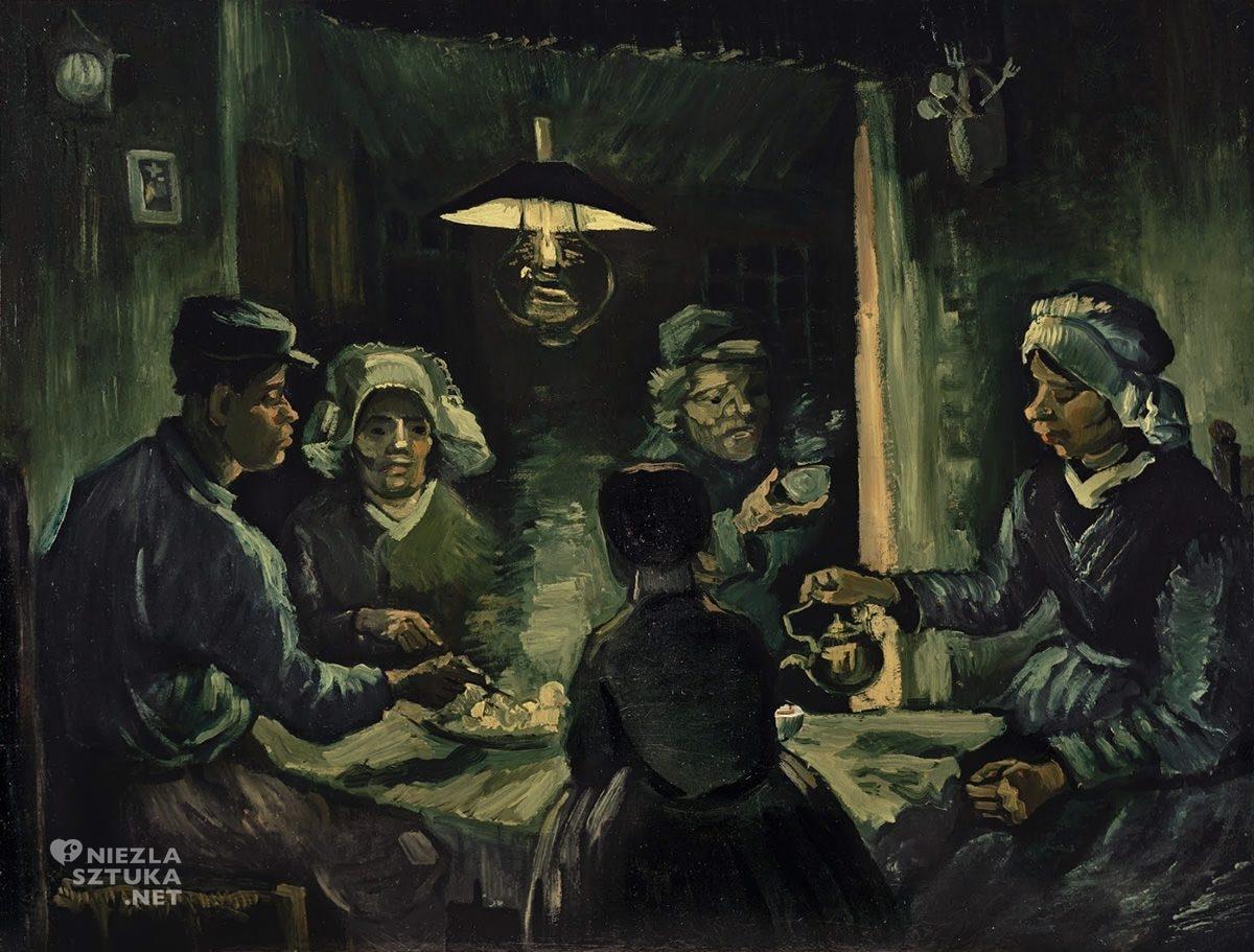 Vincent van Gogh, Jedzący kartofle, sztuka niderlandzka, Niezła Sztuka