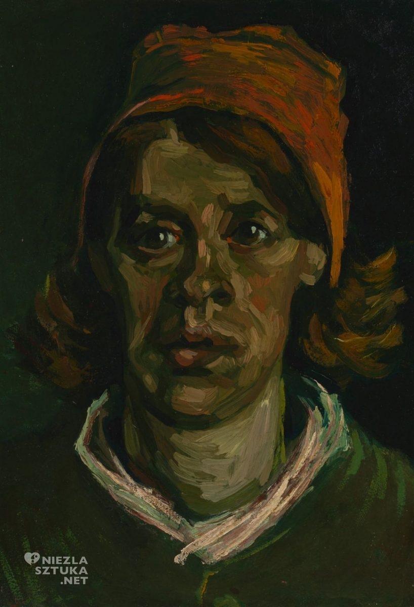 Vincent van Gogh, Głowa kobiety, sztuka niderlandzka, Niezła Sztuk