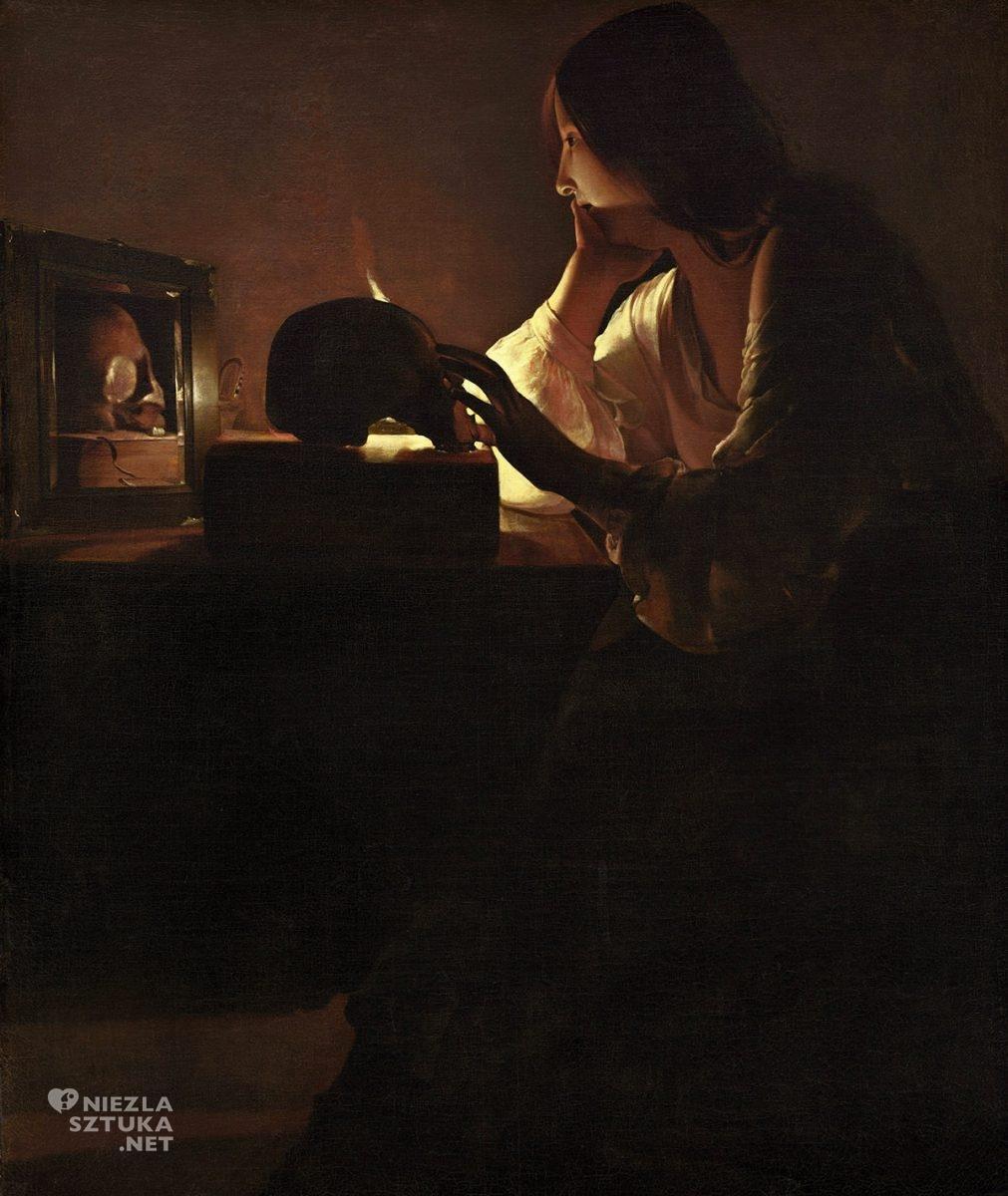 Georges de La Tour, Pokutująca Magdalena, barok sztuka religijna, Niezła Sztuka