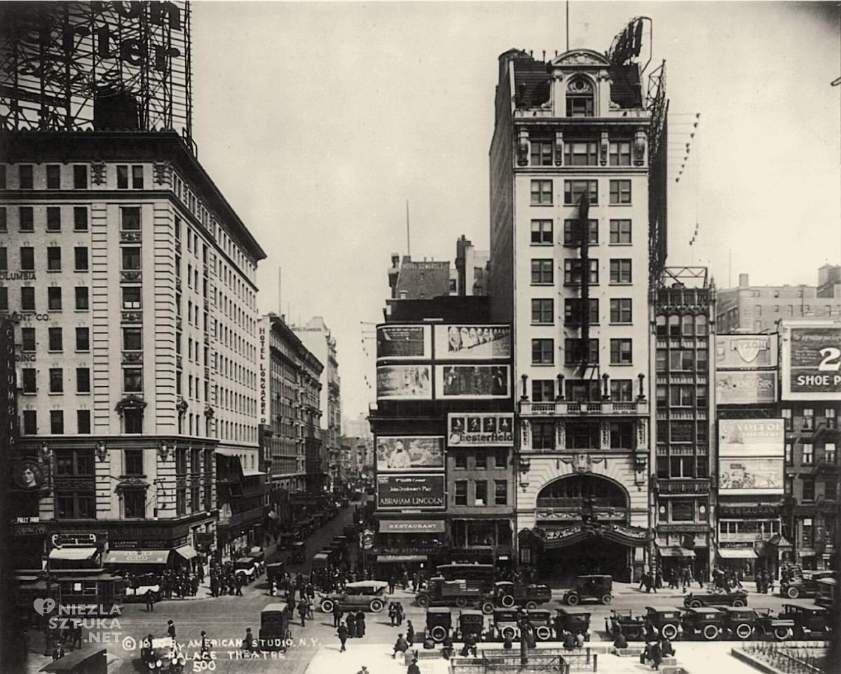 Palace Theater, Nowy Jork, kino, teatr, Edward Hopper, Niezła Sztuka