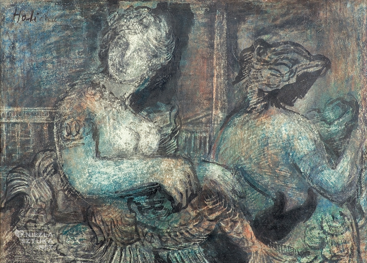 Alicja Halicka, Syreny z fontanny mórz na Placu Zgody w Paryżu, kobiety w sztuce, Niezła Sztuka