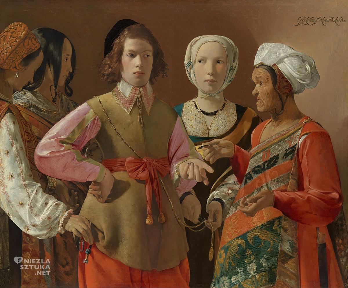 Georges de La Tour, Wróżka, barok, sztuka francuska, Niezła Sztuka