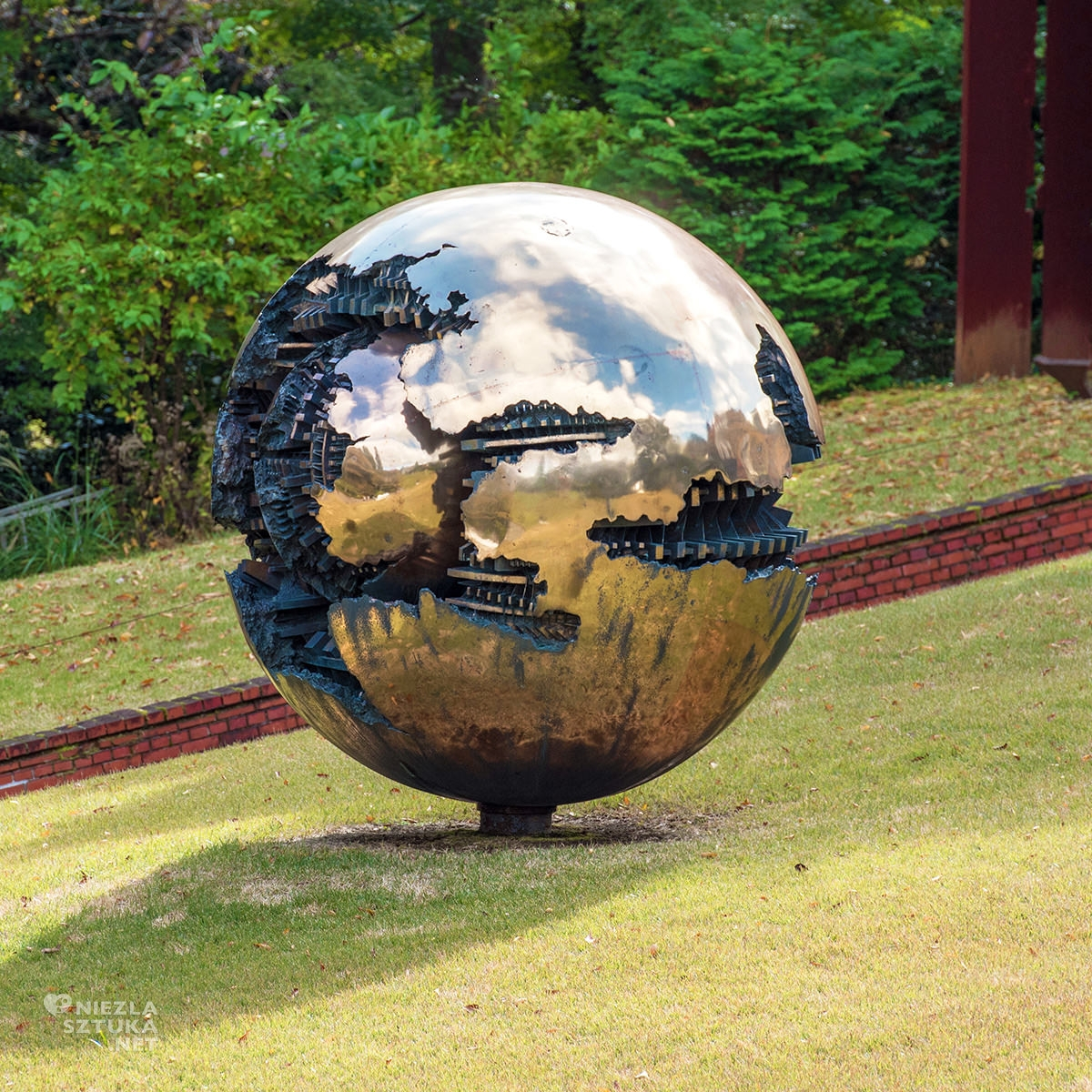Hakone park, Hakone muzeum, muzeum na świeżym powietrzu, rzeźba, rzeźba w przestrzeni, sztuka współczesna, Japonia, Hakone, niezła sztuka