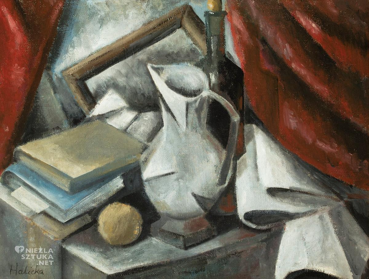 Alicja Halicka, Martwa natura, kubizm, kobiety w sztuce, Niezła Sztuka