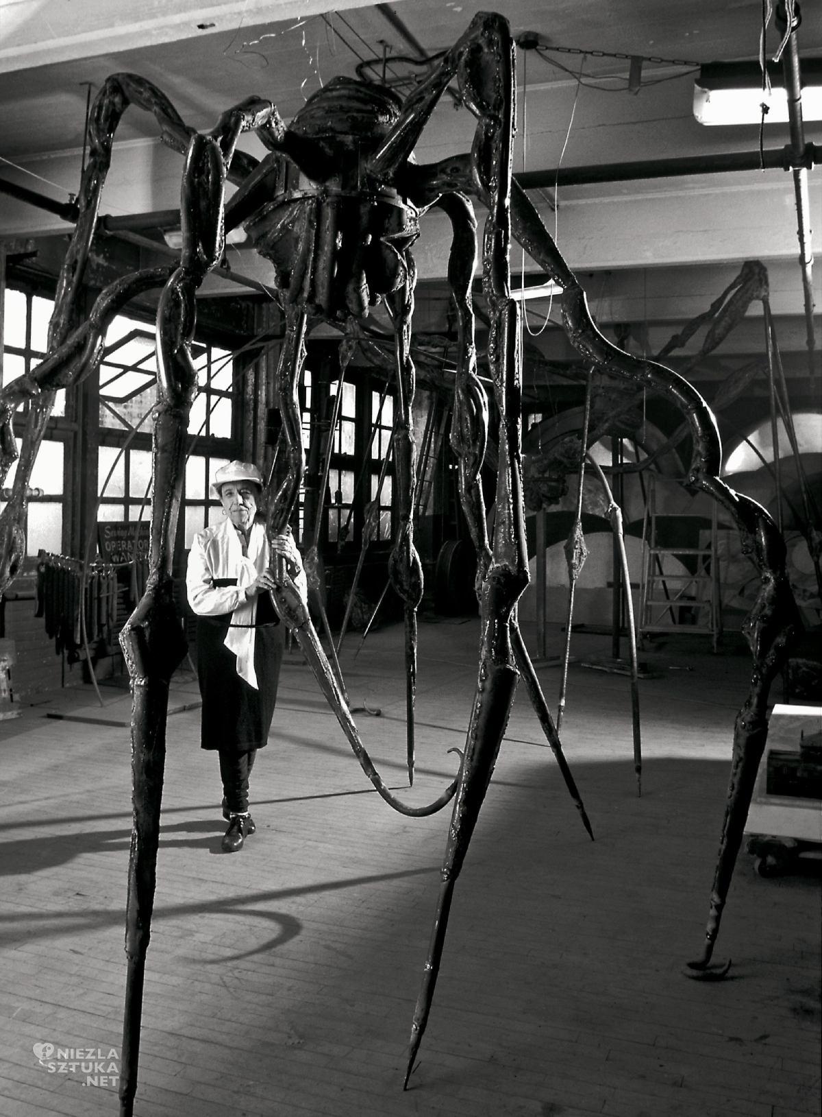 Louise Bourgeois, kobiety w sztuce, sztuka współczesna, rzeźba, Niezła Sztuka