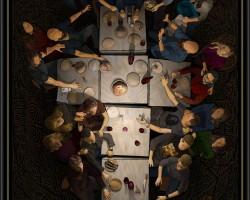 Piotr Barszczowski, Ostatnia wieczerza, Biennale Sztuki we Florencji, niezła sztuka