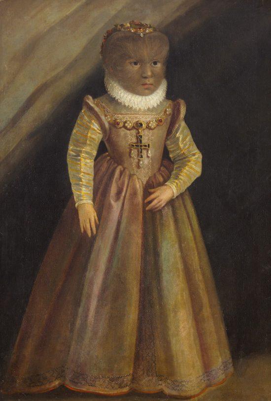 Petrus Gonsalvus, Maddalena Gonzales, XVI wiek, Niezła Sztuka