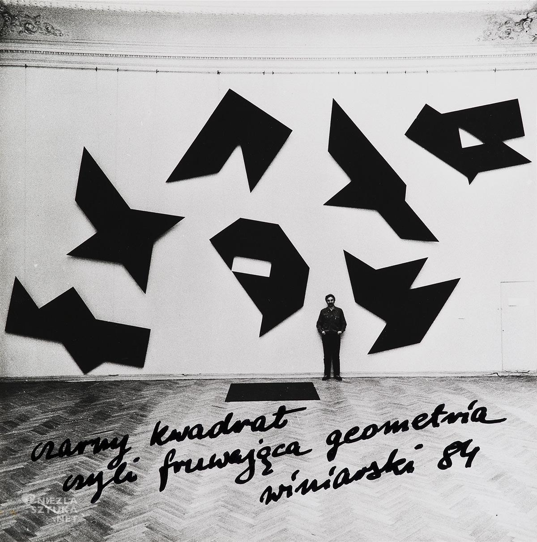 Ryszard Winiarski, Czarny kwadrat czyli fruwająca geometria, niezła sztuka
