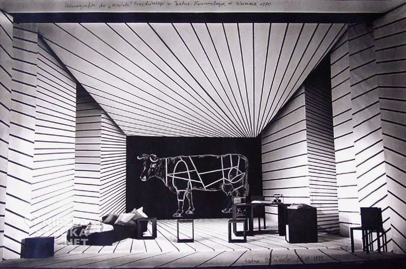 Ryszard Winiarski, scenografia teatralna, sztuka polska, niezła sztuka