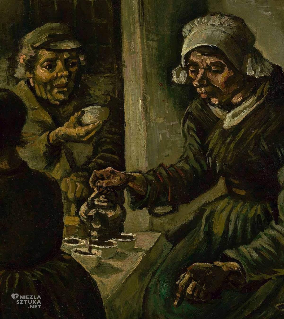 Vincent van Gogh, Jedzący kartofle, malarstwo, sztuka światowa, Niezła Sztuka