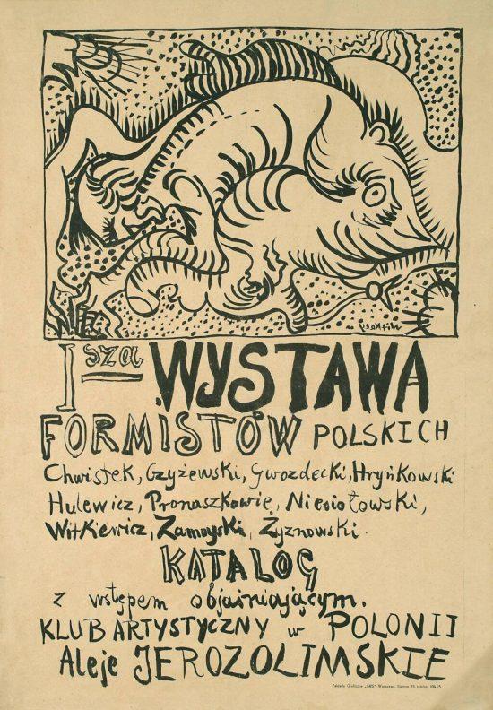 I wystawa formistów polskich, Zbigniew Pronaszko, niezła sztuka