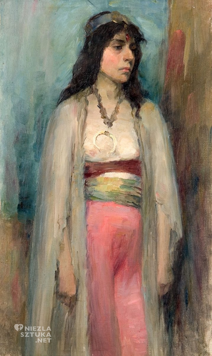 Aniela Pająkówna, portret, kobiety w sztuce, niezła sztuka