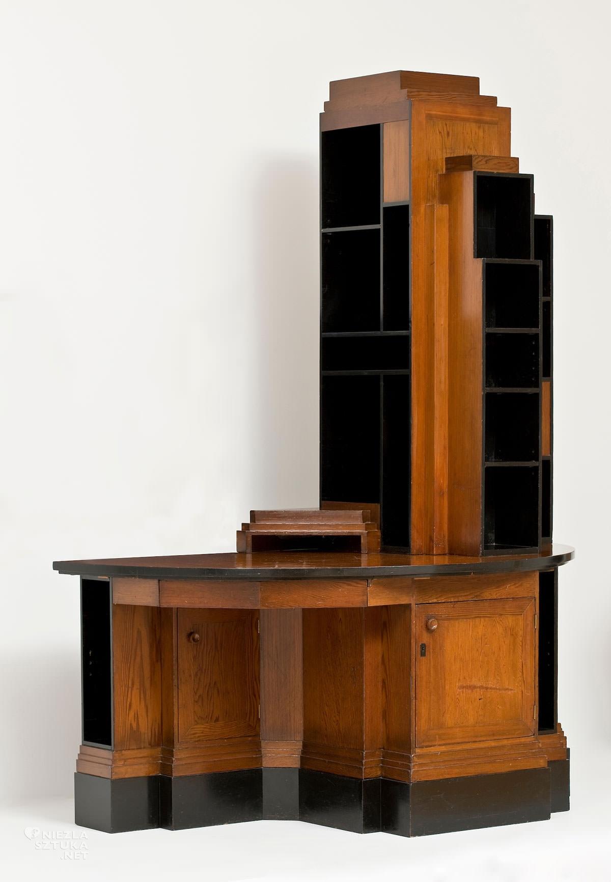 Paul Frankl, Skyskaper Cabinet, regał wieżowiec, sztuka użytkowa, art deco, niezła sztuka