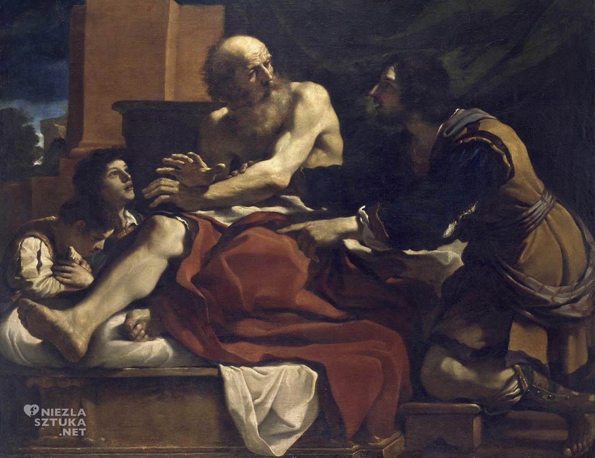 Guercino, Giovanni Francesco Barbieri, sztuka włoska, malarstwo włoskie, barok, niezła sztuka