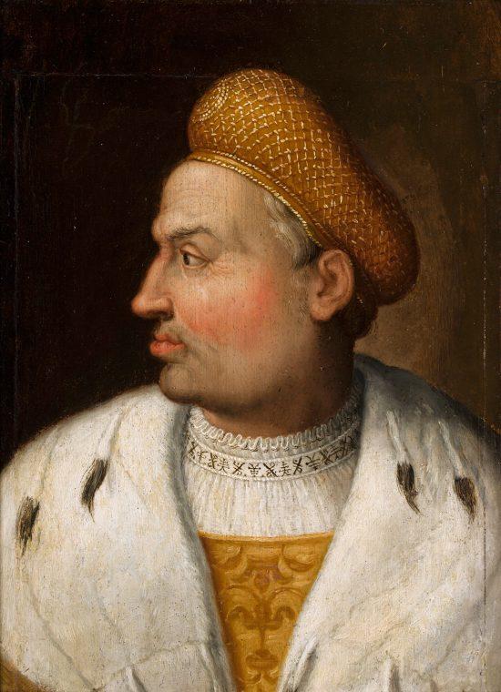 Hans Kulmbach, Portret Zygmunta Starego, kolekcja Izabeli Działyńskiej, Izabela z Czartoryskich Działyńska, niezła sztuka